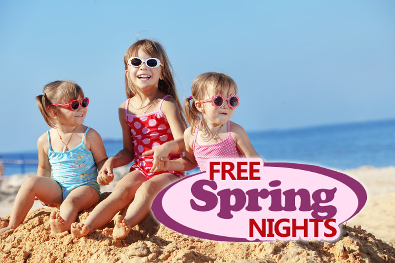 FREE Spring Nights - Buy 2, Get 3rd Free