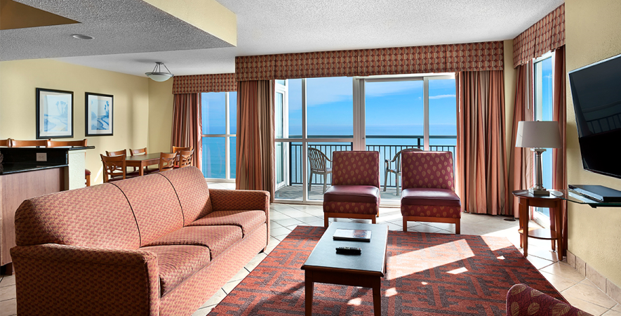 Oceanfront 4 Bedroom Condo