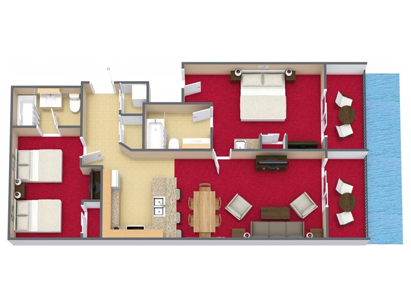 Oceanfront 2 Bedroom King Condo E