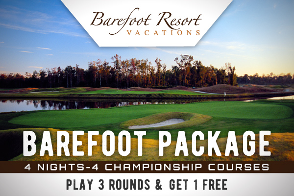 Barefoot Resort - Play 3, Get 1 FREE!
