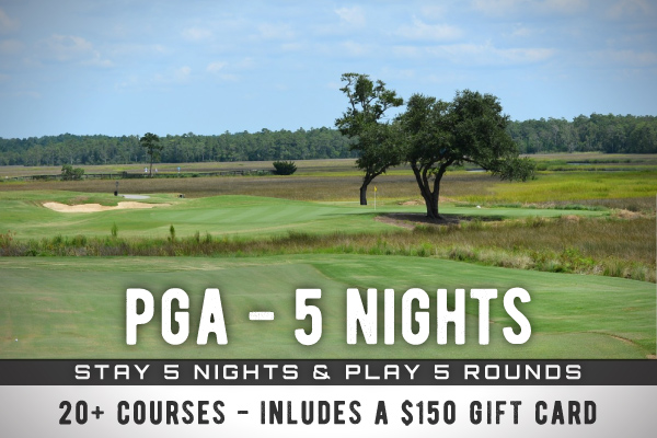 PGA - 5 Nights and 5 Rounds