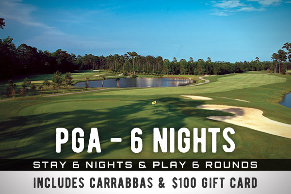 PGA - 6 Nights and 6 Rounds