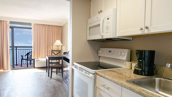 The Caravelle Resort newly renovated kitchen