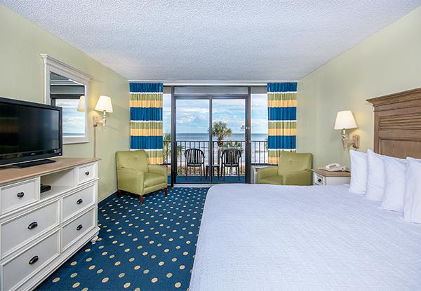Schooner Oceanfront Cabana King Room Image