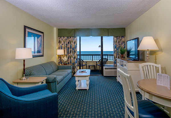 Pinnacle Oceanfront Double Suite Image