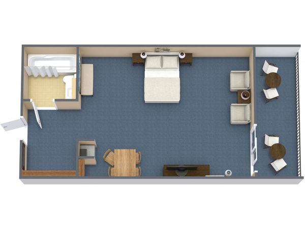 Non-Oceanfront Standard Room (#9)