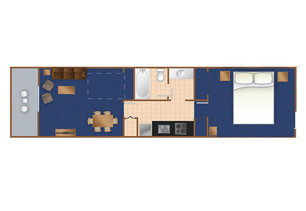 Bridgewater 1 Bedroom King Suite Grand Strand Retreat