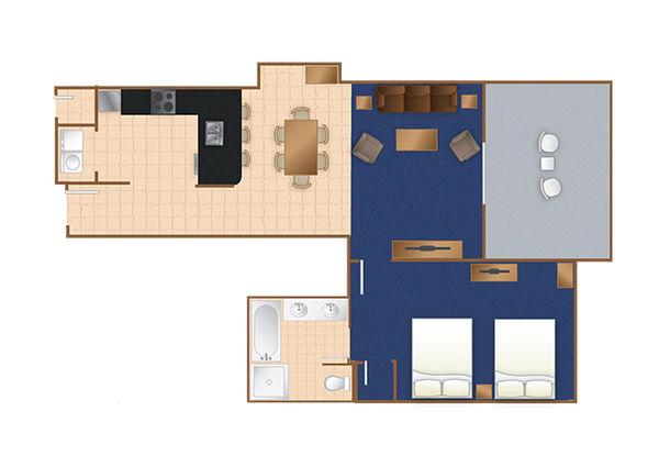 Seaside Inn 1 Bedroom Suite Myrtle Beach,SC