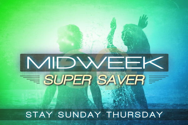 March Midweek Super Saver - Save up to 40%