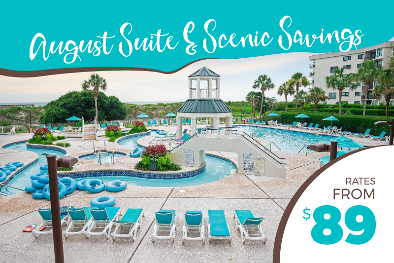 August Suite & Scenic Savings