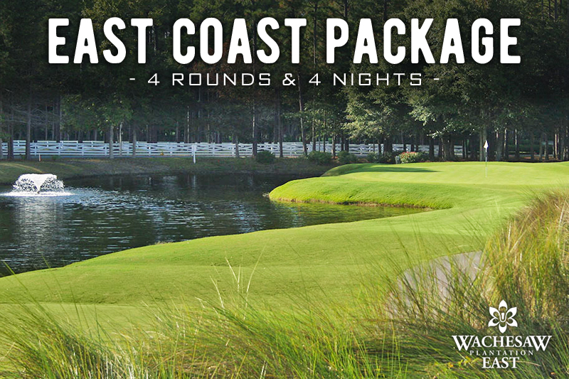 East Coast Golf iHeart Media 4 Round Package