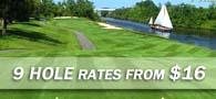 Time For Nine! Special 9-Hole Pricing from $24