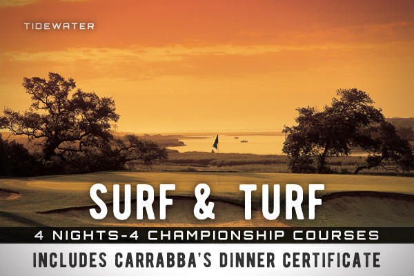 surf and turf plus package