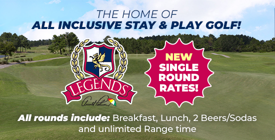 Legends Single Round Rate Stay and Play Package