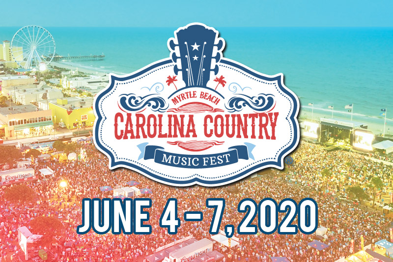 Carolina Country Music Festival 2020 Ticket Package