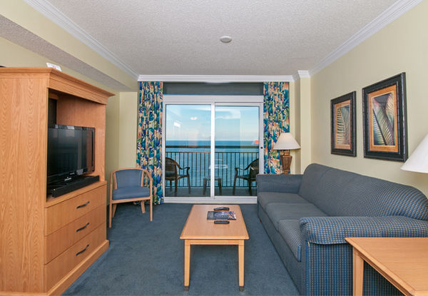 Oceanfront Deluxe Double Suite